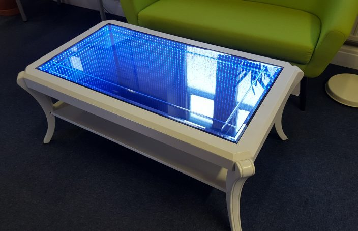 Infinity Mirror Table Hayden Kibble